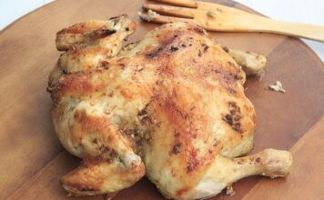 How to bake chicken